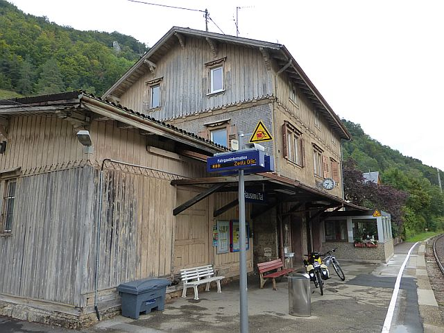Bahnhof Hausen Donau