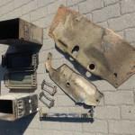 Werkzeugkisten und Getriebeschutz