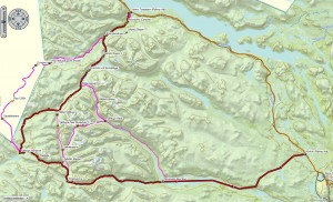 Route_Lappland
