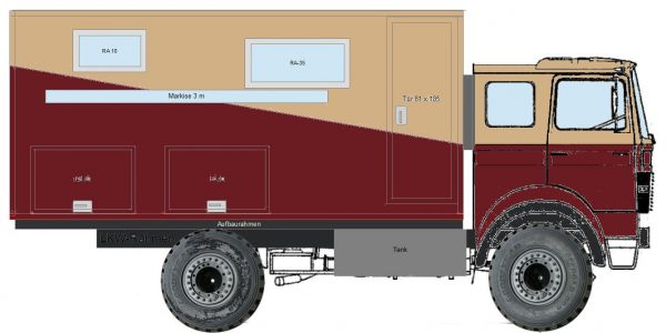 Wohnmobil Iveco Magirus 90-17